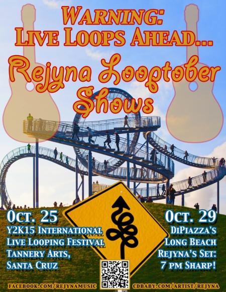 Rejyna Looptober 2015 Tour Poster